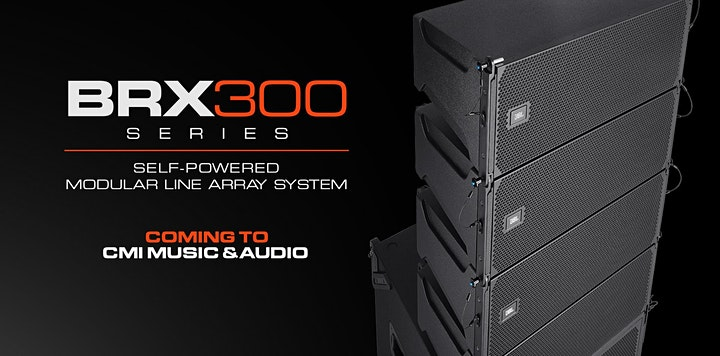 JBL BRX 300 Roadshow CMI Music & Audio image