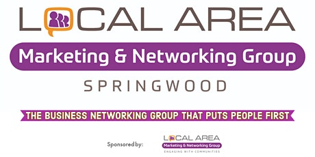 Local Area Marketing & Networking Group - Springwood Monthly Meeting tickets