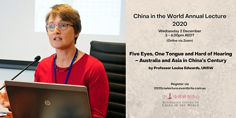 5 Eyes, 1 Tongue and Hard of Hearing – Australia & Asia in China's Century tickets