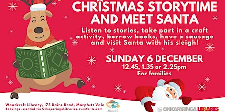 Christmas Storytime and Meet Santa Session - Woodcroft Community Centre tickets