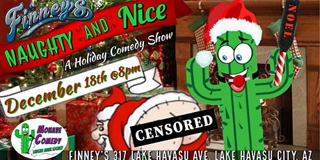 Naughty & Nice Comedy Dinner @ Finney's with Mohav tickets