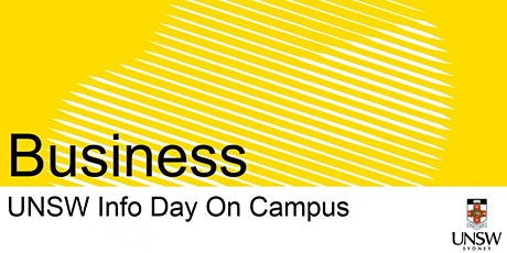 UNSW Info Day - Business tickets