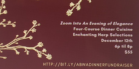 """Zoom Into An Evening of Elegance"" Holiday Fundraiser tickets"