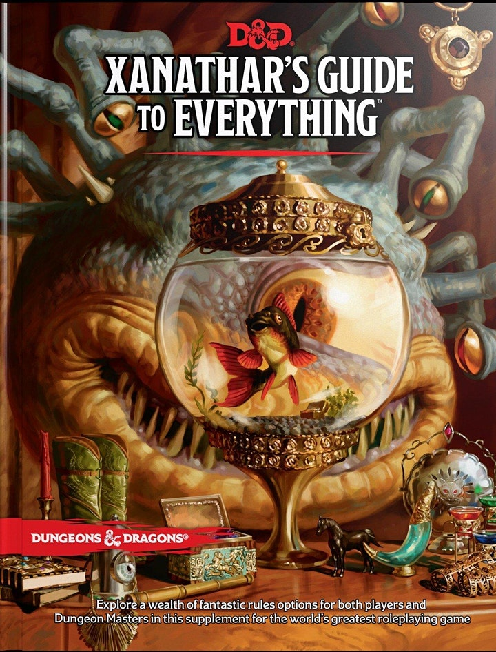 Book Review & Discussion : Xanathar's Guide to Everything image