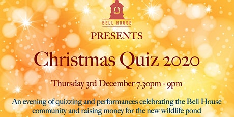 Bell House Christmas Quiz 2020 tickets