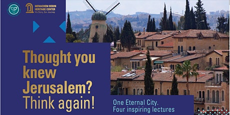 Thought you knew Jerusalem? think again! tickets