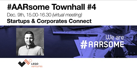 #AARsome Virtual Townhall #4 - Startups and Corporates connect tickets