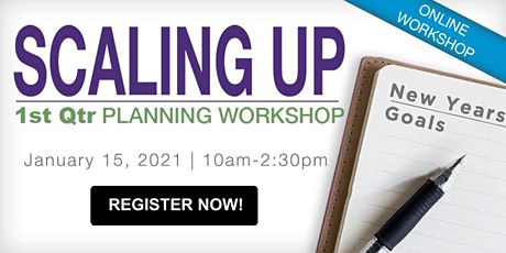 Q1 Scaling Up Planning Workshop: Business Strategy tickets