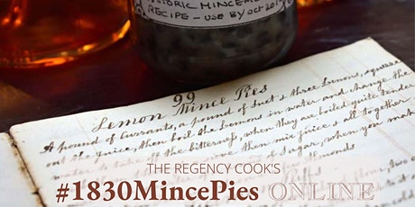Historic Mince Pie Cookery Course tickets