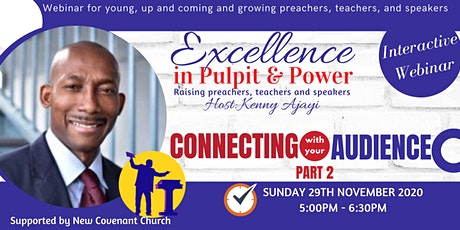 EXCELLENCE IN PULPIT & POWER - 29th NOVEMBER 2020 tickets