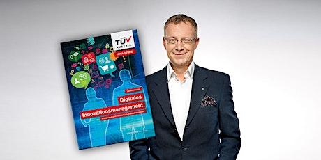 NUR ONLINE // Buchpräsentation L. Gneisz  Digitales Innovationsmanagement Tickets
