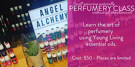 Make your own perfume with Young Living essential oils Melbourne tickets