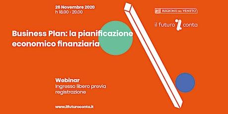 Il Business Plan: la pianificazione economico finanziaria biglietti