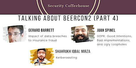 The Security Coffeehouse: Talking About BeerCon2 (Part 4)