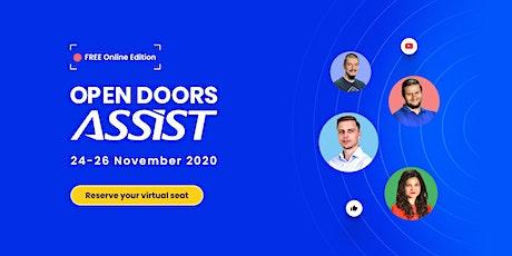 Open Doors ASSIST 2020 (Online Edition) tickets