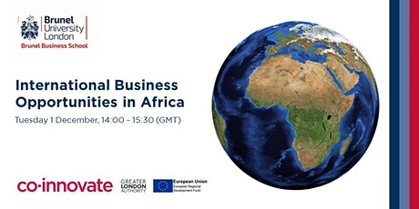 International Business Opportunities in Africa tickets