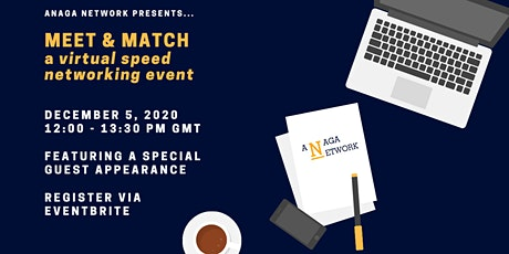 Meet & Match : Virtual Somali Speed Networking Event tickets
