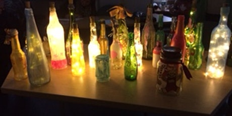 341 - Creativity for Wellbeing: Make your own Bottle Lights tickets
