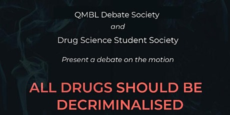 ALL DRUGS SHOULD BE DECRIMINALISED - VIRTUAL EVENT tickets