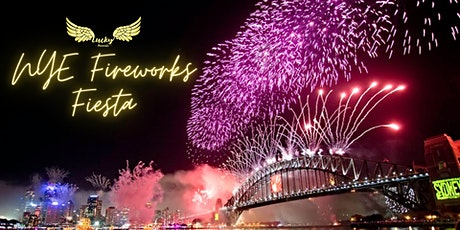 """Lucky Presents """"NYE Fireworks Fiesta Cruise"""" - Bring on 2021 tickets"""