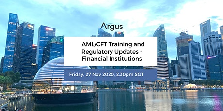 AML/CFT Training and Regulatory Updates - Financial Institutions -Singapore tickets