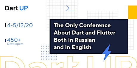 DartUP 2020: Online Conference on Dart and Flutter tickets