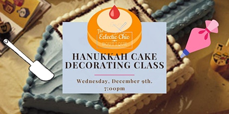 Virtual Hanukkah Cake Decorating Workshop tickets
