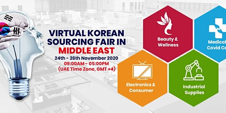 Korean Sourcing Fair In Middle East 2020 tickets