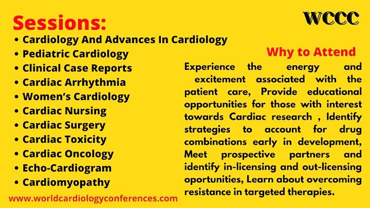 World Conference on Cardiology & Cardiac Care image
