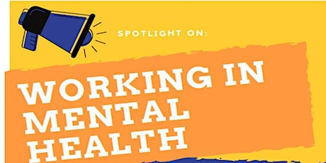 Working in Mental Health - 8th December 2020 tickets