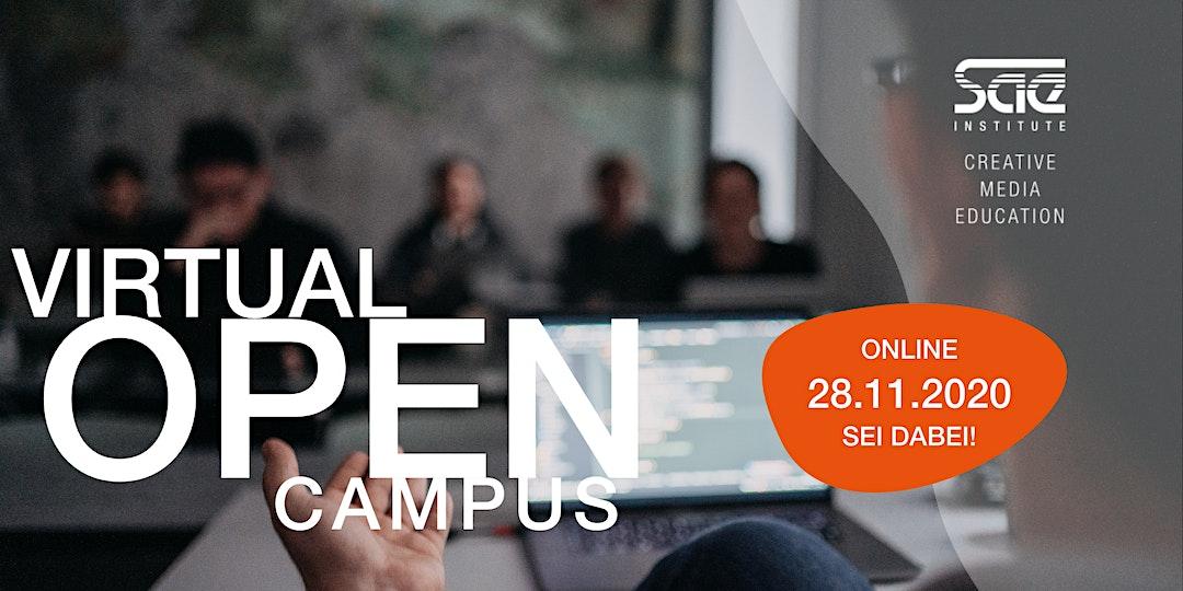 VIRTUAL OPEN CAMPUS #GamesProgramming #Web - SAE Institute München