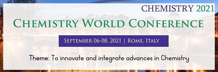 CHEMISTRY WORLD CONFERENCE image