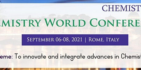 CHEMISTRY WORLD CONFERENCE biglietti