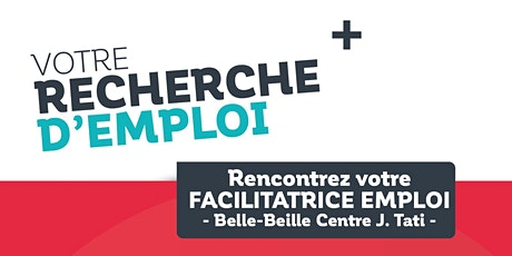Permanences Emploi dans le quartier prioritaire  Belle-Beille (Centre Tati) billets