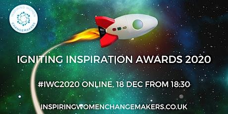 Igniting Inspiration Awards #IWC2020 tickets