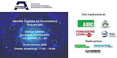 Identità Digitale ed Ecosistema Industriale biglietti