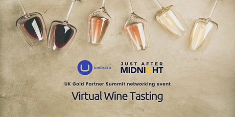 Virtual Wine Tasting for UK Umbraco Gold Partners tickets
