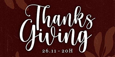 Thanksgiving (para voluntários) ingressos