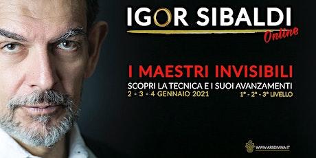 Igor Sibaldi - I Maestri Invisibili in diretta streaming biglietti