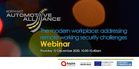 The modern workplace: addressing remote working security challenges tickets