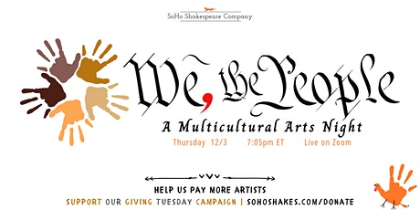 WE, THE PEOPLE:  A Multicultural Arts Night tickets