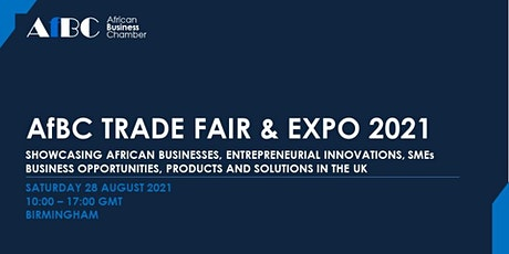 AfBC Trade Fair and Expo 2021 tickets