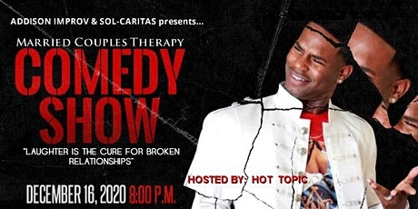 The Married Couples THERAPY Comedy Show (Hot Topic) tickets