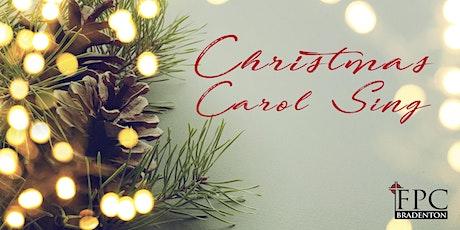 Christmas Carol Sing at First Presbyterian Church tickets