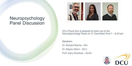 DCU Psychological Society - Neuropsychology Panel Discussion tickets