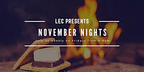 November Nights tickets