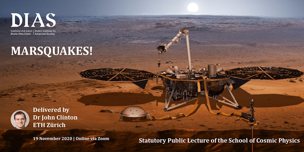 Marsquakes! - Statutory Public Lecture of the School of Cosmic Physics