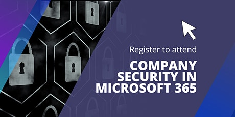Company security in Microsoft 365