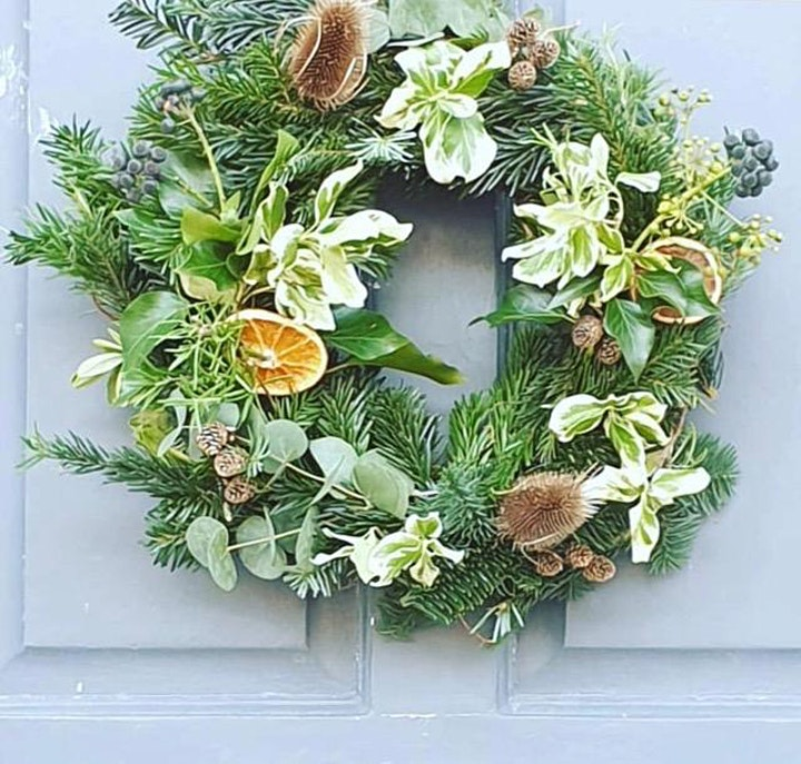 DIY Christmas Wreath Making Kit & Tutorial - 4 colour options image