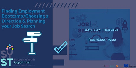 Finding Employment Bootcamp: Choosing a Direction & Planning the Job Search tickets